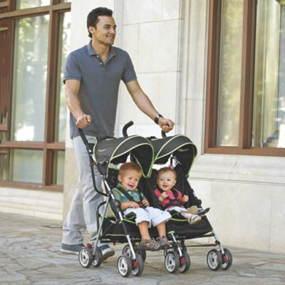Ulti-Mite Twin Umbrella Stroller