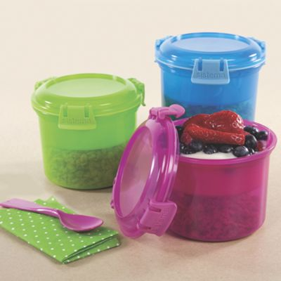 KLIP IT Breakfast To Go Cereal Container