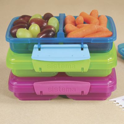 KLIP IT Split Snack Container 11.8 oz.