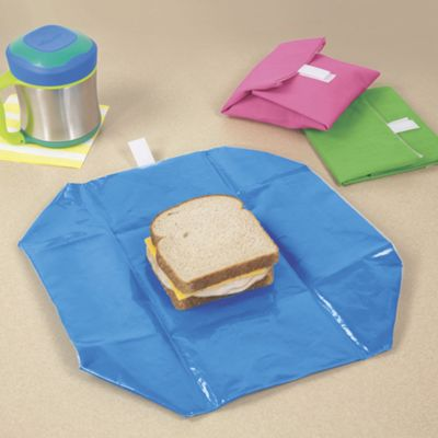 Wrap-N-Mat Reusable Sandwich Wrap