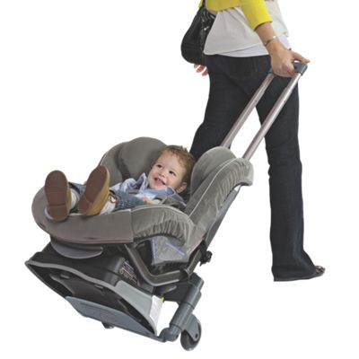 Brica Roll N Go Car Seat Transporter From One Step Ahead