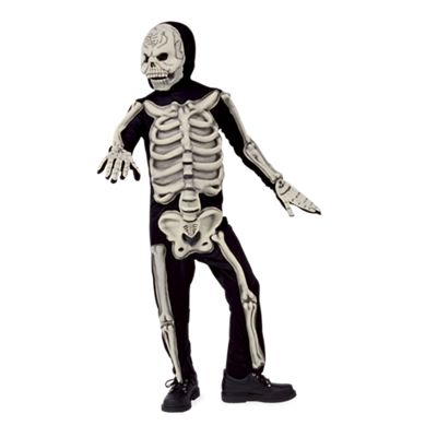 Kids 3D Skeleton Halloween Costume