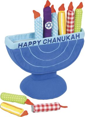 Kids First Menorah Soft Toy