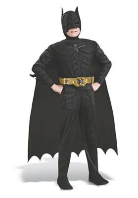 Dark Knight Muscle Chest Batman Halloween Costume