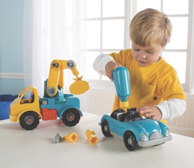 Take-A-Part Vehicle Building Toy Set