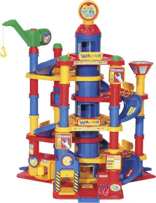 7 Level Toy Parking Garage