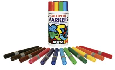 Colorful Markers For Kids
