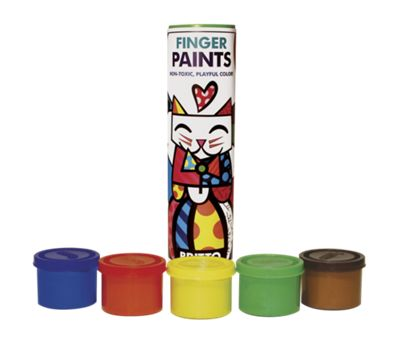 Finger Paints 5-Pack