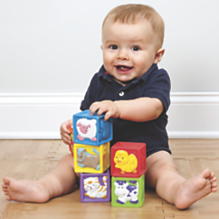 Soft Cubes Baby Blocks