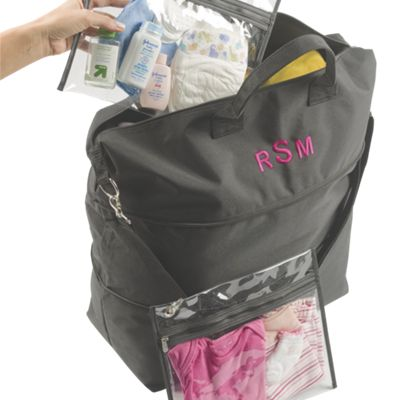Expandable Travel Tote Bag