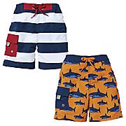 Sun Smarties Boys Swim Trunks