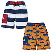 Sun Smarties Boy's Swim Trunks