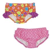 Sun Smarties Girls Ruffled Swim Bottom