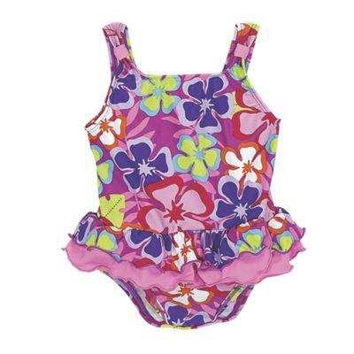 Sun Smarties Girls One-Piece Swimsuit