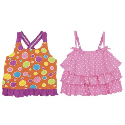 Sun Smarties Girl's Tankini Top