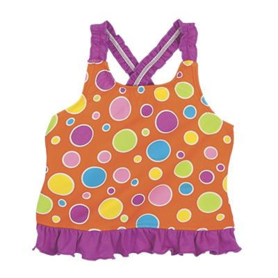 Sun Smarties Girl's A-Line Tankini Top