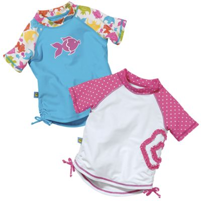 Sun Smarties Girls UV Swim Shirt