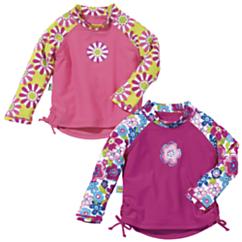 Sun Smarties Girls UV Long Sleeve Rash Guard