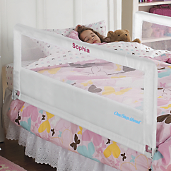 Hide Away 56 inch L Extra Long and Tall Bed Rail and Additional Side Rail