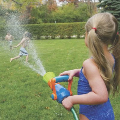 Fire Hose Nozzle Water Blaster Toy