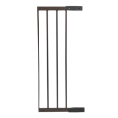 Decor Angle Mount 10 Baby Gate Extension in Hammered Bronze