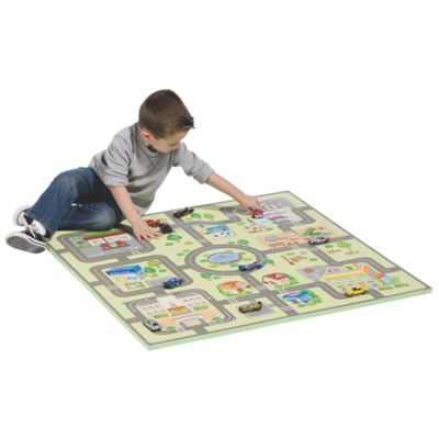 Car and City Foam Play Mat