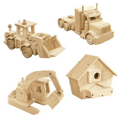 Build & Play Woodcraft Kit