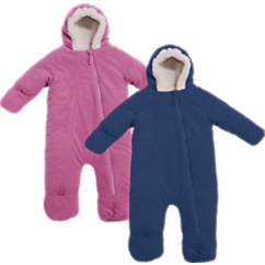 Cozy Cub Baby Bunting Snowsuit in Fleece
