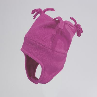 Stay-Put Tasseled Fleece Hat for Girls