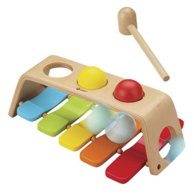 2-in-1 Pounding Bench Xylophone