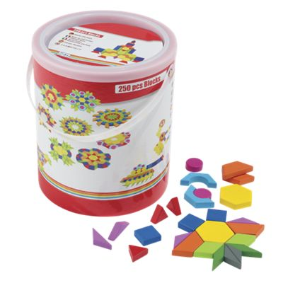 250-Piece Wood Pattern Block Set