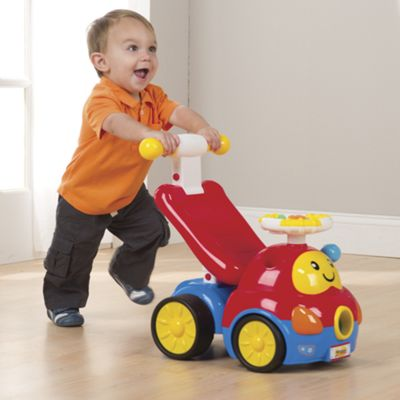 2-in-1 Walker Ride-on Car