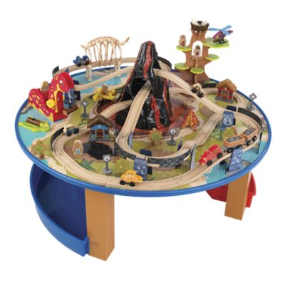 Dinosaur Train Set and Train Table
