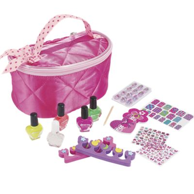 Kids Neon Nail Polish Set & Caddy