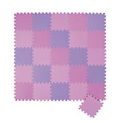 26 Piece Pastel Foam Puzzle Mat