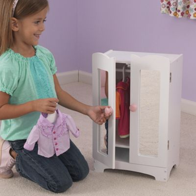 KidKraft Doll Armoire for up to 19 Inch Dolls