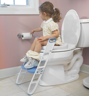 Contoured Cushie Step Up Potty Seat From One Step Ahead