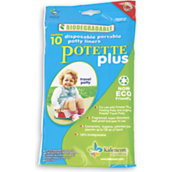 disposable portable potty liners 10 pack