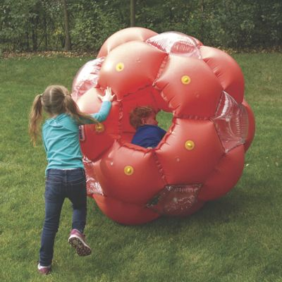 Honey Comb Roll 'N Play Inflatable Ball