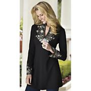 Natasha Floral Embellished Tunic