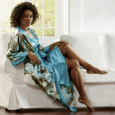 Island Pleasures Robe/Gown Set