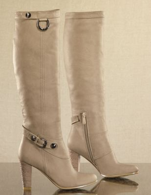 Midnight Velvet Camel Tall Boot