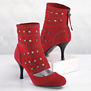 Shoe Boot, Studded...