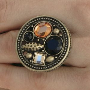 Exotic Beaded Multi-Stretch Ring