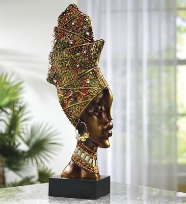 African Tribal Head
