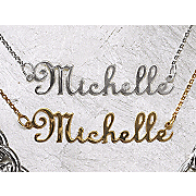 Necklace Name Script