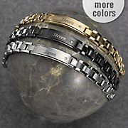 Id Bracelet Stainless Steel MenS