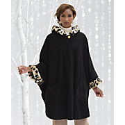 Spotted Animal Trim Cape