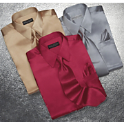Shirt And Tie Set Satin