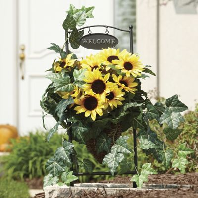 Sunflower Welcome Basket